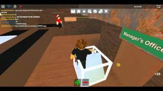 Roblox: Work At a Pizza Place, Getting a DJ set PART 1
