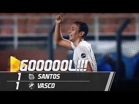 Santos 1 x 1 Vasco | GOL | Brasileirão (27/09/18)