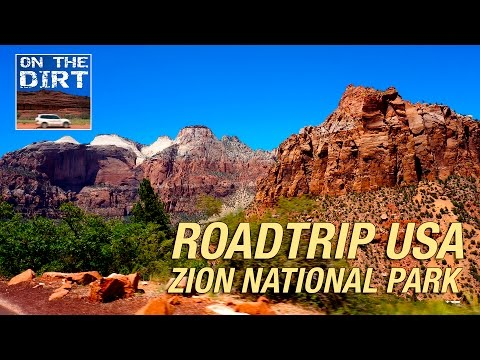 Roadtrip USA - Zion National Park, Utah - Dash Cam