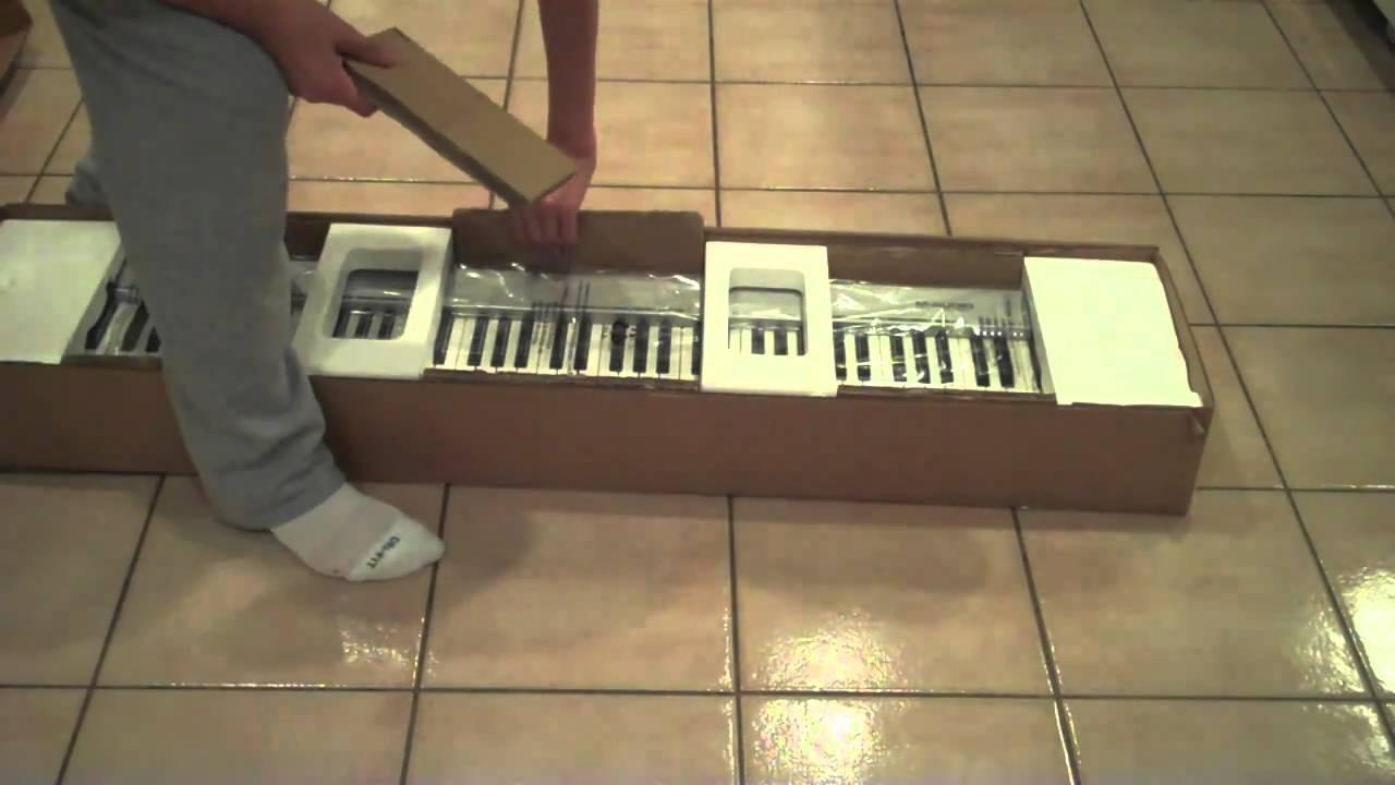 unboxing m audio keystation 88es youtube. Black Bedroom Furniture Sets. Home Design Ideas