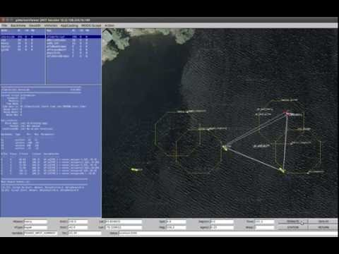 Control Multiple Unmanned Surface Vehicles + Collision Avoidance