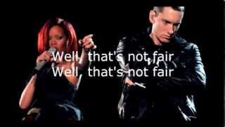 "Eminem ft. Rihanna "" THE MONSTER "" (Lyric Video)"