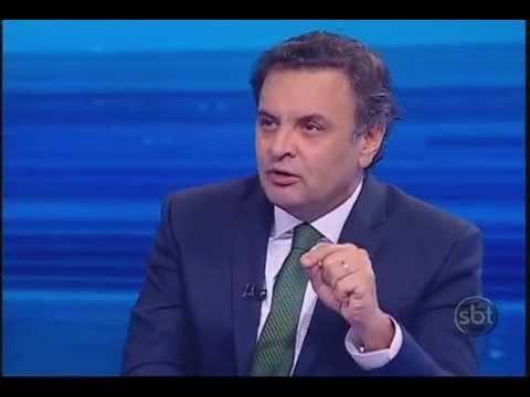 Jornal do SBT - Entrevista completa com o senador Aécio Neves - 04/06/2014