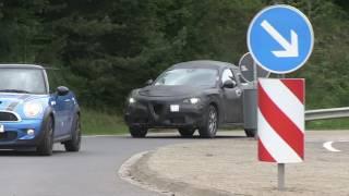"""""""بالفيديو"""" شاهد سيارة الفا روميو ستلفيو 2018 أثناء الاختبارات Alfa Romeo Stelvio"""