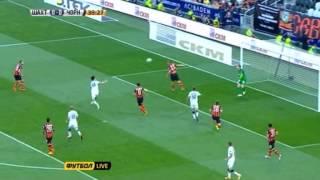 Шахтер - Черноморец (41 минута) Мяч в руку Степаненко