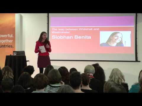 The leap from Whitehall to Westminster: Siobhan Benita at TEDxWhitehallWomen