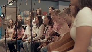 The Langley Ukulele Ensemble - Anti-Bullying Day (One Love)