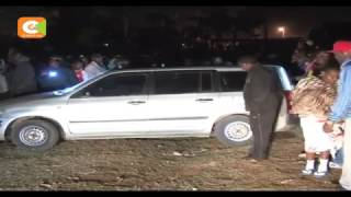 Police recover 4 bodies from a car in Gitaru, Kiambu