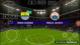Akhir score PES 2019 Persija vs Persib Bandung ppsspp android