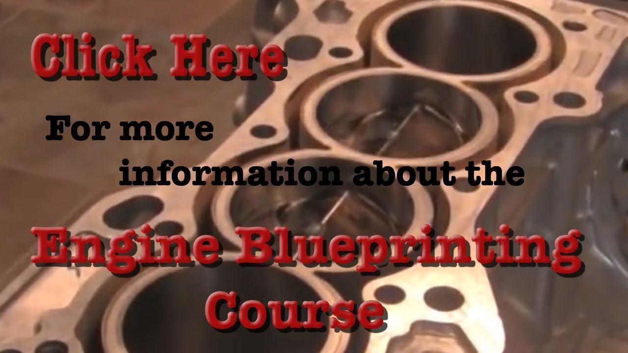 Engine Blueprinting