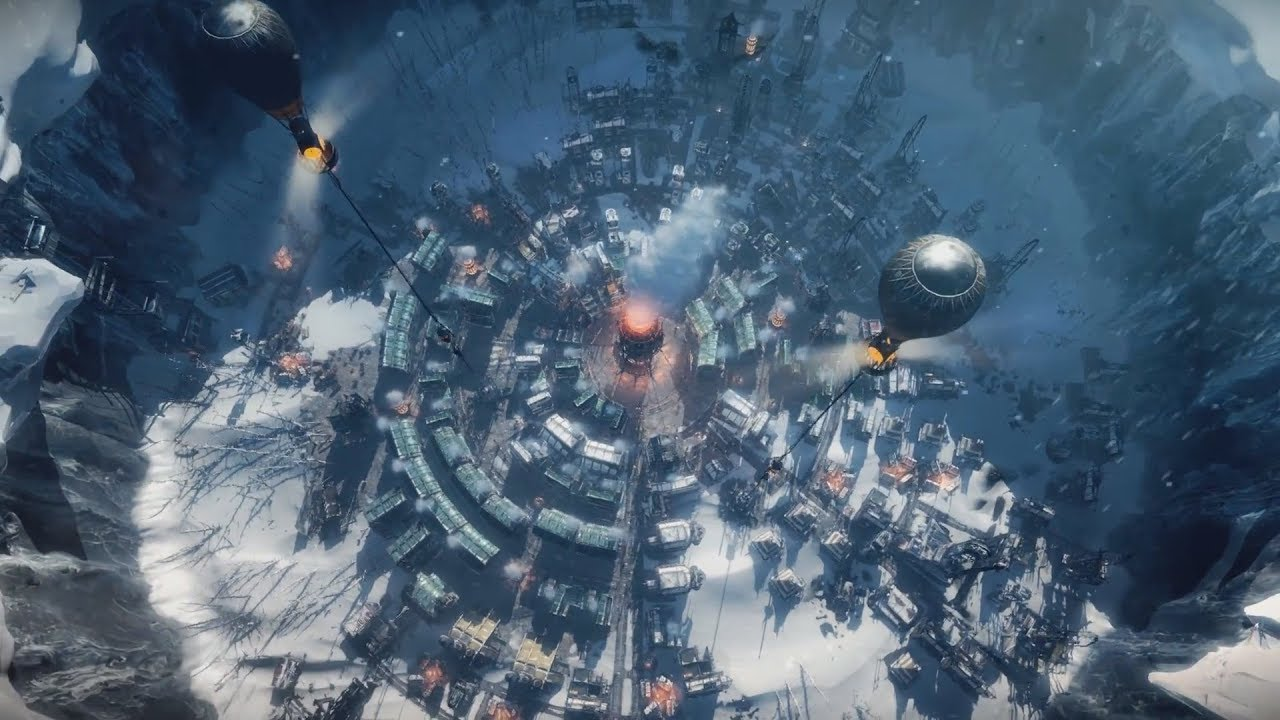 Frostpunk 2018 Game Wallpapers: FROSTPUNK First Gameplay Trailer (Steampunk Ice Age