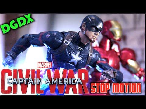 DGDX's Captain America: Civil War Stop Motion *HD*