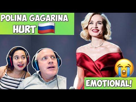 POLINA GAGARINA (Поли́на Гага́рина) HURT | REACTION! SO EMOTIONAL!🇷🇺