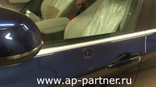 """Автомобиль BMW X4. Защита штатного радио канала и системы KEYLESS-GO  от """"удочки"""""""