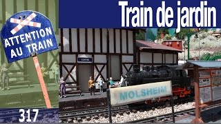 Le Train de Jardin de Molsheim