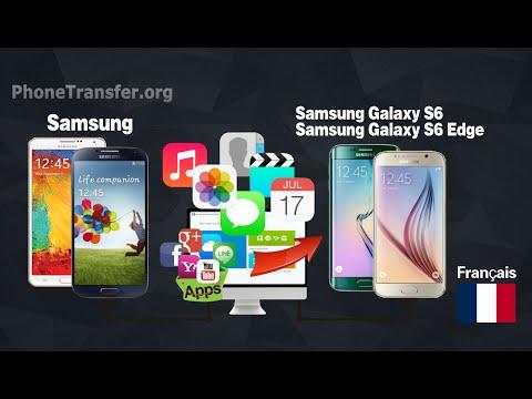Comment synchroniser contacts / Médias / SMS de Samsung pour Samsung Galaxy S6 (Edge)
