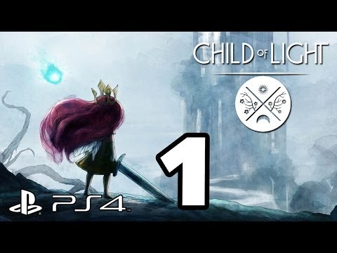 Child of Light Walkthrough PART 1 PS4 Lets Play Gameplay [1080p] TRUE-HD QUALITY
