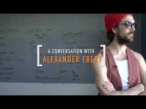 A Conversation with Edward Sharpe [AKA Alexander Ebert]