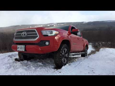 2016 Toyota tacoma gets airborn