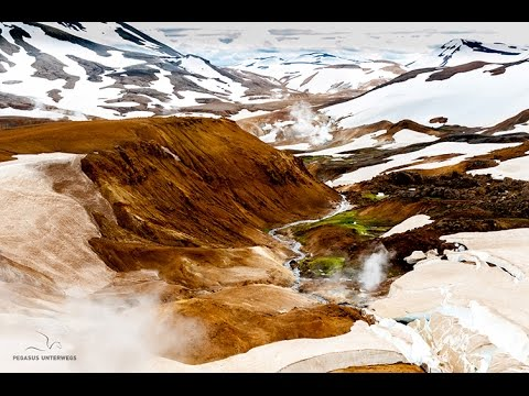 Steam and ice in Iceland • Expedition truck • World tour