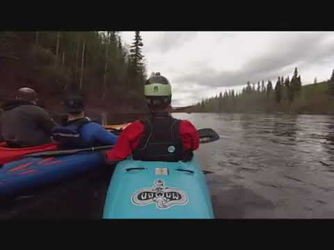 1st Run Upper chena river Alaska 2014 ( granite tors to rosehip campground )