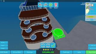 Osprey Class roblox Cruise Ship Tycoon First build Part 2