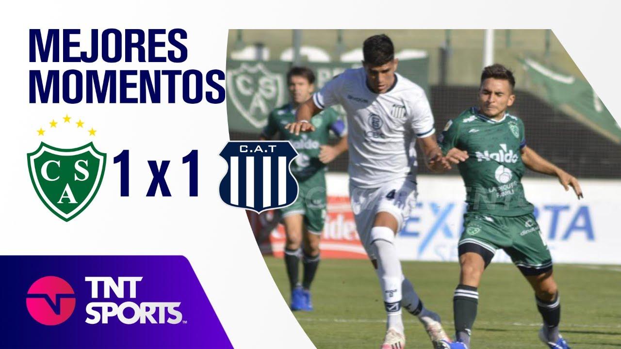 Resumen de Sarmiento vs Talleres (1-1) | Zona B - F 4 - Copa LFP 2021