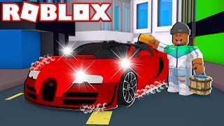ROBLOX CAR WASHING SIMULATOR