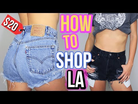 WHERE TO SHOP IN LOS ANGELES | Melrose Trading Post