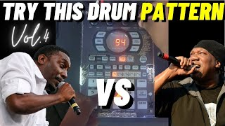 How To Make 2 Dope Boom Bap Drum Patterns inspired by Kane & KRS-One   Sp 404sx Ep. 4