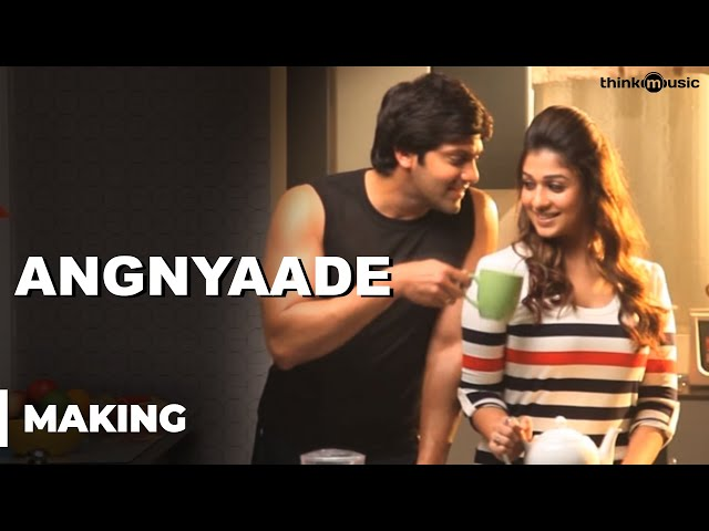 Raja Rani - Audio Teaser 4 | Making of Angnyaade Travel Video