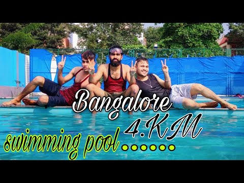 Bangalore Best Swimming Pool Video Only 4 km  In Bangalore