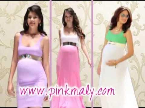 Moda 2013 , 2014, Ropa de dama, moda juvenil, ropa para embarazada Pink Maly by Laura Zuñiga