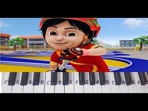 Shiva Shiva Theme Title Song on Keyboard Piano- Easy Notes