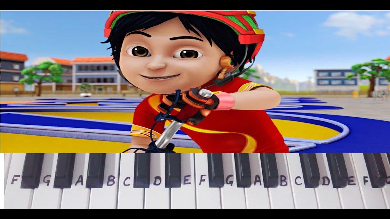 Shiva Shiva Theme Title Song on Keyboard Piano- Easy Notes
