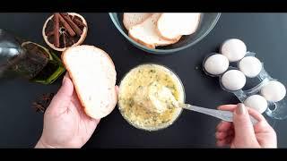 Простой и вкусный рецепт закуски из батона плавленого сыра зелёного лука яйца