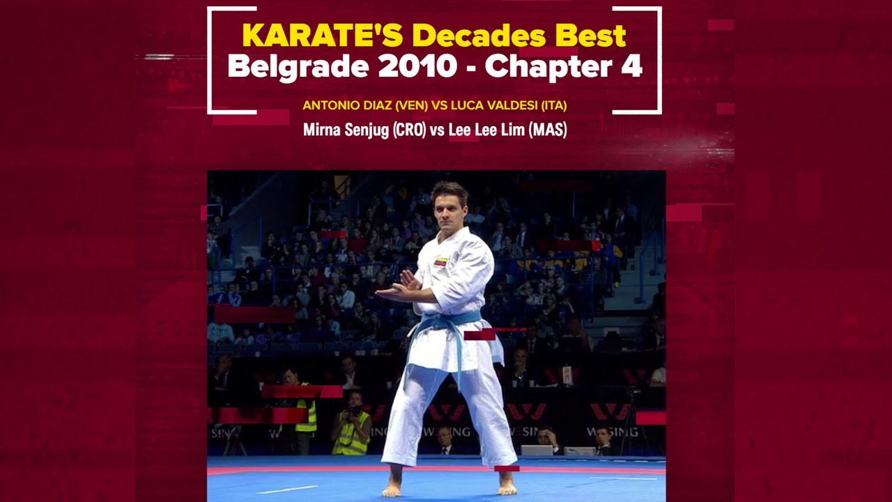 KARATE Decades Best   Unforgettable KATA – Belgrade 2010