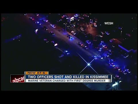 Officers shot and killed in Kissimmee