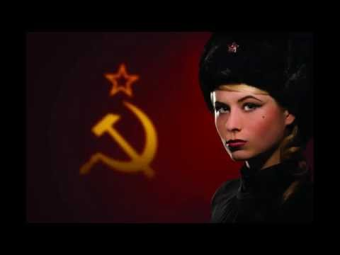 Soviet Union Anthem Sung In English (1944 Version) Followed By 1977 Soviet Red Army Russian Version