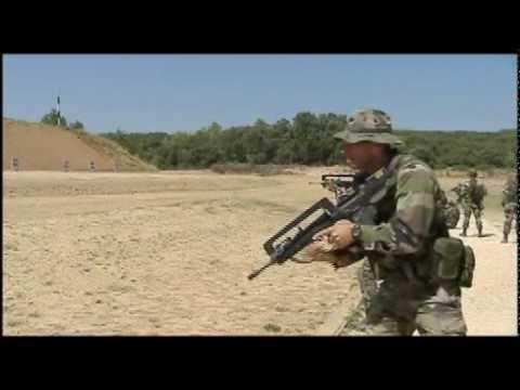 Fantastique L'armée française - Techniques de tir de combat / French army QA-31