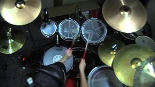 judas priest leather rebel drum cover