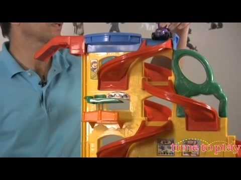 Little People Wheelies Stand 'n Play Rampway From Fisher-Price