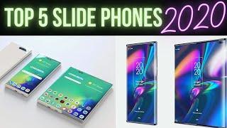 Top 5 Slide Phones | Sliding Display | Rollable Display Smartphones Upcoming 2020/ 2021