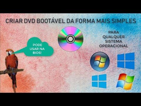Criar um dvd bootável para qualquer windows! - 2020 ATUALIZADO
