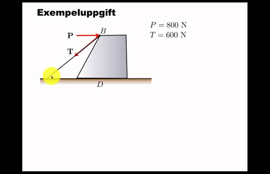 Krafter och vektorer: övning