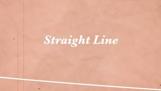 KRYGA - Straight Line (Lyric Video)