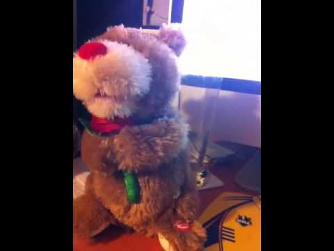 One direction valentines day singing bear
