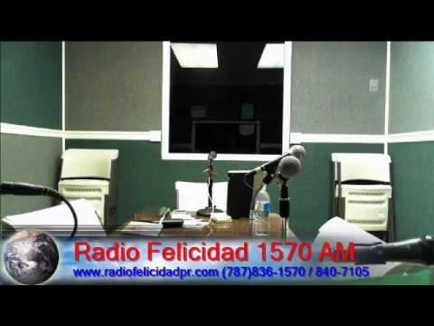 Emisión en directo de Radio Felicidad 1570 AM