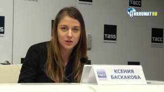 Актриса и режиссер Ксения Баскакова