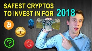The SAFEST Crypto-Currencies to Invest in for 2018 | Large*Mid*Small*Micro